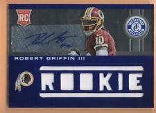 2012 Totally Certified Robert Griffin III RC Auto Patch 9/99 Multi 8 Piece Blue