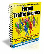FORUM Traffic Secrets Helps You Get Instant Ready Buyers To Your Website (CD)