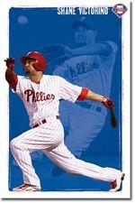 BASEBALL POSTER Philadelphia Phillies Shane Victorino