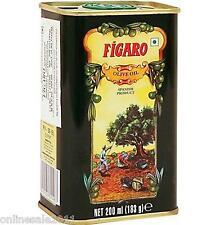 Figaro Olive Oil 200ml Tin Pack Spain Skin Massage Hair Moisturiser Free Ship