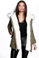 Parkas Faux Fur Coats & Jackets for Women