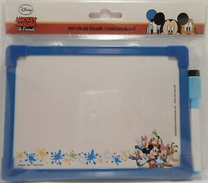 Dry Erase Board Disney MICKEY MOUSE FRIENDS Double Sided Drawing Message