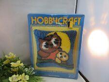 Hobbycraft Latch Pillow Kit. Sealed. OWLS #2904