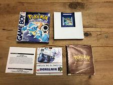 Pokémon: Blue - (Game Boy) Boxed Complete