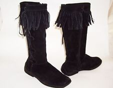 New Look Knee High Boots 100% Leather Upper Shoes for Women
