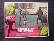 "1969 THE LOST MAN Original 14x11"" Lobby Card #4 FN- 5.5 Joanna Shimkus"