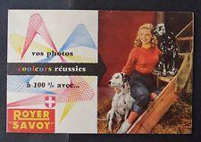 Catalogue Publicité appareil photo ROYER SAVOY 2 24x36 catalog Katalog