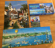Sally Fisher Caldwell 3-1 Deluxe Jigsaw Puzzles, 100, 550 and 700 All Complete