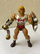 Vintage FLYING FISTS HE-MAN Action Figure COMPLETE MOTU RARE 1986 Wave 5 WORKS!!