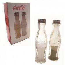 Coca-Cola Gewürzstreuer aus Glas Coca Cola Salz Pfeffer Streuer Gewürze Set