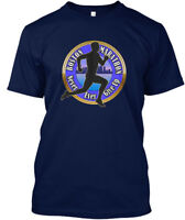 Boston Marathon Strong Runners T - Never Ever Give Up Hanes Tagless Tee T-Shirt