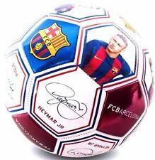 FC BARCELONA 2017 Size 5 Ball Photo Signature Football Claret & Blue Euro 16