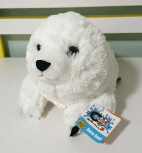 Wild Republic Harp Seal Cuddlekins Soft Plush Children's Animal Toy 35cm Long!