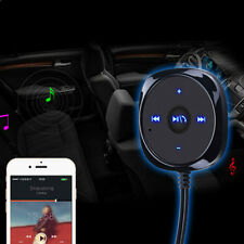 Bluetooth Car Kit Stereo Music Receiver MP3 Player Hands-free 3.5mm Aux Input mz