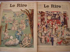 LE RIRE lot de 9  numéros - 1937