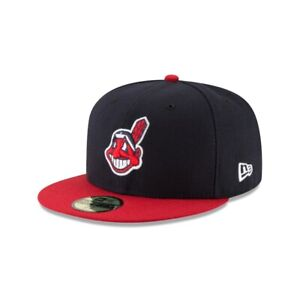 New Era Authentic Collection Cleveland Indians Postseason 18 - Chief Wahoo *NEW*