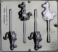 Dinosaur Lollipop Chocolate Candy Mold 289 NEW