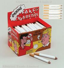 Fake Cigarettes Fags Smoke Effect Lit End  Novelty Trick Joke Pranks Fancy Gifts