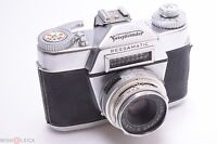 ✅ VOIGTLANDER BESSAMATIC 35MM SLR WORKS 100%* W/ COLOR-SKOPAR X 50MM 2.8 LENS