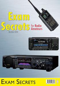 NEW Ed - Exam Secrets for Radio Amateurs - FREE P&P Book - UK Ham radio exams