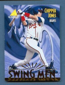 1995 Pinnacle Swing Men #303 CHIPPER JONES Atlanta BRAVES