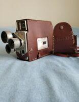 Vintage Kodak Cine Scopemeter Turret Camera f/1.9 Made in USA, with Field Case