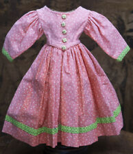"""Vintage original cotton dress or french or german doll about 20"""" (51-53cm)"""