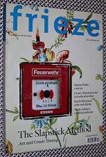 FRIEZE Magazine, SIGMAR POLKE, Slapstick, Trockel, Rachel Harrison, Nedko Solako