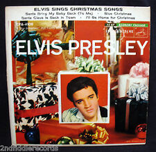 ELVIS PRESLEY-Sings Christmas Songs Ep 45+Picture Sleeve-RCA VICTOR #EPA-4108