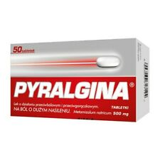 Pyralgina, 500 mg, tablets, 50 pcs. for all kind of aches