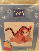 Counted Cross Stitch Kit Bounce With Tigger And Winnie The Pooh Craft Used