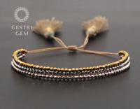 Handgefertigtes Boho Armband aus Perlen Surfer Strand Accessoires Ethno Freund