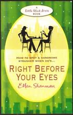 """""""Right Before Your Eyes"""", by Ellen Shanman, Used Book."""