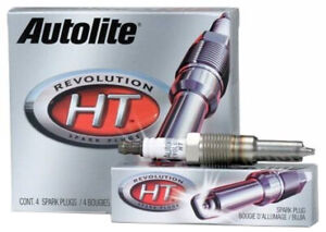 8 X AUTOLITE REVOLUTION HT SPARK PLUGS FOR FORD FALCON BA BARRA 220 SOHC 5.4 V8