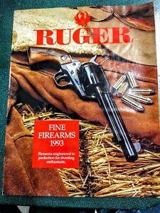 Ruger Sales Catalog Circa 1993 Good Condition!