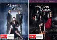 The Vampire  Diaries COMPLETE Season 4 & 5: NEW DVD