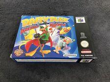 Nintendo 64 Daffy Duck Dans le rôle de Duck Dodgers EUR Quasi neuf