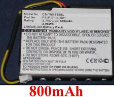 Batterie 800mAh type P11P17-14-S01 Pour TomTom Via 135M