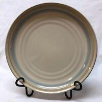 "Noritake Stoneware Painted Desert 8603 10-3/8"" Dinner Plate Beige Blue Tan Bands"