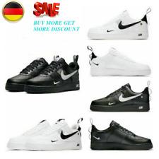 Damen AIR FORCE 1 '07 Weiß Sneaker Herren Sportschuhe Leder Turnschuhe EU36-44