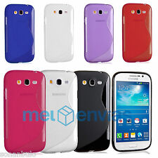 Funda para SAMSUNG GALAXY GRAND NEO i9060 i9080 i9082 PLUS GEL TPU S-LINE