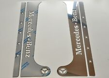 Mercedes Actros MP 2/3 Door PILLAR Super Polished Stainless Steel 4 Pcs
