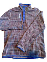 Ralph Lauren RLX Golf Pullover Snap Plaid Men's Multiple Sizes $165