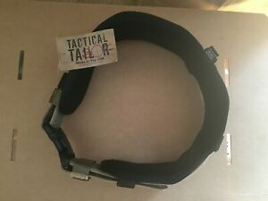 NEW - TACTICAL TAILOR DUTY BELT PAD - Black, Size Med