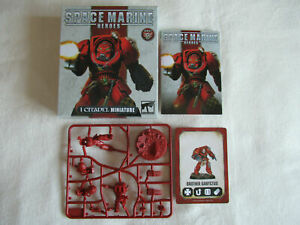 Space Marine Heroes 2 - Blood Angel Terminator Brother Sanyctus *Warhammer 40K*