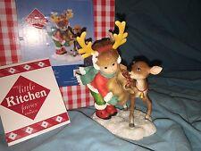 "My Little Kitchen Fairies ""LITTLE DEER FAIRIE"" 2012 NIB CHRISTMAS RARE"
