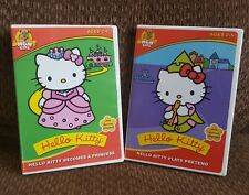 Dvd Lot of Hello Kitty Becomes a Princess & Hello Kitty Plays Pretend