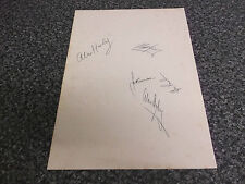 5 Signatures Manchester City Football Club Benson Harley Pardoe Ogley Gray 1960s