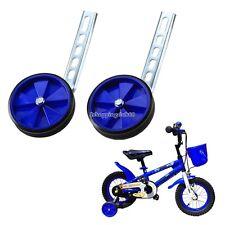 "New Kids BikeTraining Wheels Adjustable 12,14,16,18,20"" Bicycle Universal IS6H"