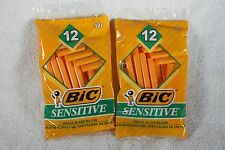 Bic sensitive razors, 2 Packages of 12